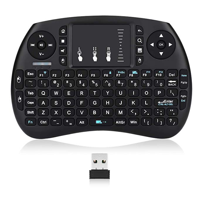 f0339e7dcd5 Mini Keyboard, LIVEBOX Wireless Mini Remote Touch Keyboard with Touchpad  Mouse for Pc, Pad, Xbox 360, Ps3, Google Android Tv Box, Htpc, Iptv, Raspberry  Pi